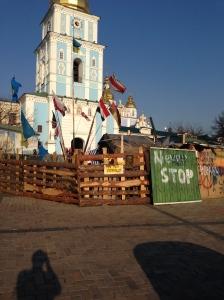Maidan tent city
